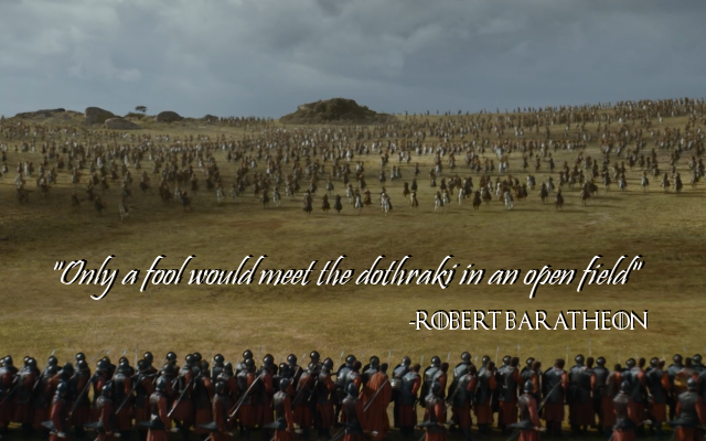 robert baratheon quote